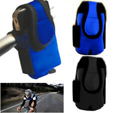 Bicycle Mobile Phone Holder Safe Cycling Cover Phone Protector Carrier Pouch BLK