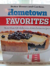 Hometown Favorites:120+ Delicious Recipes Vol.1 by Better Homes and Gardens new