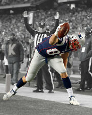 New England Patriots ROB GRONKOWSKI Glossy 8x10 Photo Spotlight Print Poster