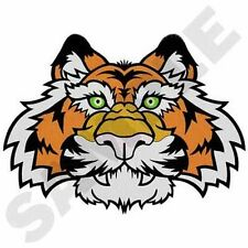 """Tiger, Wild Animal, Exotic Cat Embroidered Patch 8""""x 5.9"""""""