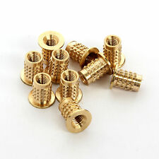 M3 x 10pcs Threaded Inserts for 3D Printed Parts - Flanged - UK Made.