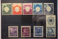 Konvolut Briefmarken - Deutsches / Grossdeutsches Reich - ca. 200 Marken