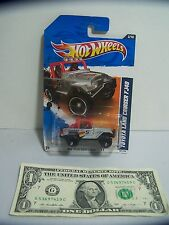 Hot Wheels Gray #5 Toyota Land Cruiser FJ40 #3 - HW Performance - 2011
