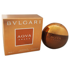 Bvlgari Aqva AMARA Cologne EDT For Men 3.3 / 3.4 Oz * NEW IN BOX *