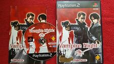 VAMPIRE NIGHT ORIGINAL BLACK LABEL SONY PLAYSTATION 2 PS2 PAL