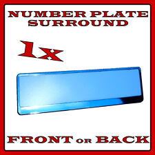 1x Number Plate Surround Holder Chrome for Jaguar X-Type