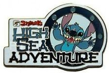 Disney Pin: DCL Stitch's High Sea Adventure - Logo (New/Card)
