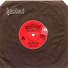 """THE POLICE - EVERY LITTLE THING SHE DOES IS MAGIC - 7"""" 45 VINYL RECORD 1981"""