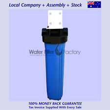 BB20-W 20x4.5 Big Blue House Tank Water Filter + Bracket + Spanner | NO FILTERS