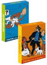 TINTIN MOULINSART HERGE 51040 HAPPY FAMILIES GAME (2 DIFFERENT) CARTE DA GIOCO