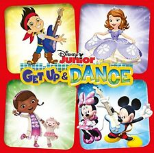 DISNEY JUNIOR GET UP & DANCE ( NEW SEALED CD ) DOC MCSTUFFINS / JAKE / SOFIA