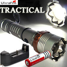 BEST CREE  3000LM LED Flashlight T6 XML Rechargeable + 18650 Battery+ Charger