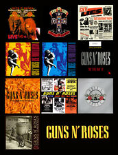 "GUNS N' ROSES album discography magnet (4.5"" x 3.5) metallica pantera hollywood"