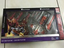 Transformers Platinum Edition Triple Changers Astrotrain  Blitzwing MISB Ref:63