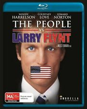 The People vs Larry Flynt - Courtney Love Blu-ray Discs NEW