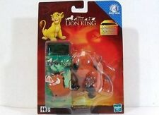 TINY TINS-DISNEY-THE LION KING/RE LEONE-PUMBA PICCOLO PELUCHE D/FIAMMIFERINO