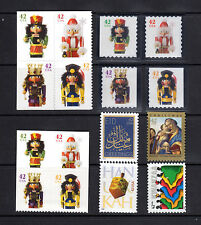 4360-63 4364-67 4368-71 Nutcrackers Complete Set + 4 Holiday Issues 2008 MNH