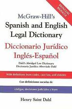 McGraw-Hill's Spanish and English Legal Dictionary : Diccionario Juridico Ingles
