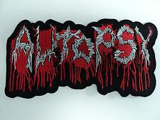 AUTOPSY EMBROIDERED BACK PATCH