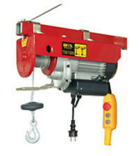 New pro HD 2HP Electric safety emergency button Hoist  Crane 660/1320LBS