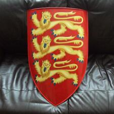 3 Lions Edward The First Shield - Perfect For Costume & Stage etc