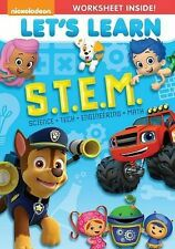 Let's Learn: S.T.E.M. New DVD Free Shipping