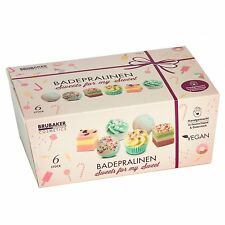 "BRUBAKER 6 Handmade Bath Melts ""Sweets for my Sweet"" Gift Set, Vegan+Organic"