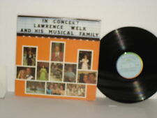 LAWRENCE WELK and his Musical Family In Concert 1973 Ranwood double vinyl record