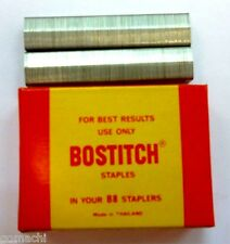 4 Boxes 4000 Bostitch B8-1M Staples For Best Results Use Only Office&Home studen