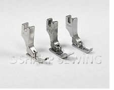 3 PIECE RIGHT CORDING, WELTING, ZIPPER FOOT SET fits JUKI DDL-5550 SINGLE NEEDLE