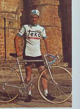 CYCLISME carte ANDRES GANDARIAS  (equipe TEKA) 1976