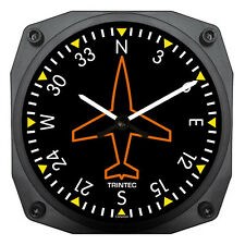 """Trintec 6"""" Classic Directional Gyro Instrument Style 9062 A Great Pilot Gift"""