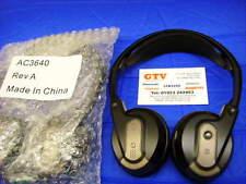 (2 PAIRS) AC3640 ROSEN AV7000 AV7500 2 CHANNEL GENUINE  HEADPHONES (LOC S3)