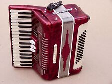 Excellent Accordion Excelsior 48 bass including case