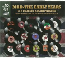 MOD - THE EARLY YEARS - 4 CD BOX SET - 112 CLASSIC & RARE TRACKS