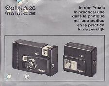 Rollei A 26, Rollei C26 Bedienungsanleitung Nr.336