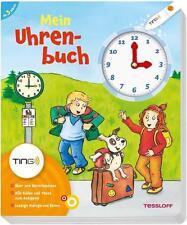 Mein Uhrenbuch, interaktives TING-Buch zum smart HÖRSTIFT, Sach-Lehrbuch Uhrzeit