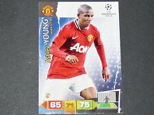 YOUNG MANCHESTER UNITED UEFA PANINI CARD FOOTBALL CHAMPIONS LEAGUE 2011 2012