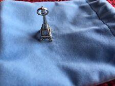 Pendientes de plata esterlina colgante de torre eiffel