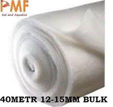 40M Pond fish tank Filter Wool 12-15mm for koi ponds CHEAPEST ON EBAY BULK ROLL