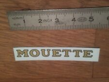 "Transfert logo ""MOUETTE"" pour Canot Boat HORNBY MECCANO"