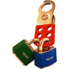 Squire lock off safety hasp lock out hasp L4 for valves & electrical switch gear
