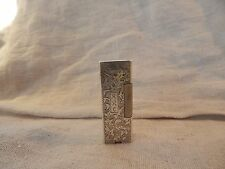 Vintage 950 Sterling Silver Lighter 1930s Mono ARC Ornate Rollalite (Dunhill?)