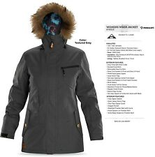 NEW Dakine Wren Gray Womens Medium 10K Ski Snowboard Jacket Msrp$265