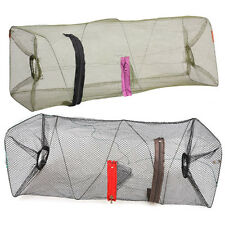 New Crab Fish Crawdad Shrimp Minnow Fishing Bait Trap Cast Dip Nylon Net Cage