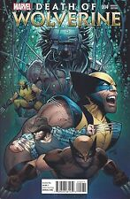 DEATH OF WOLVERINE #4 LAND VARIANT COVER IT ALL ENDS HERE!