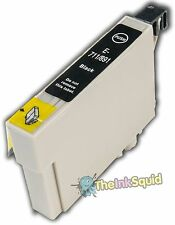 Black T0711 Cheetah Ink Cartridge (non-oem) fits Epson Stylus DX4000 & DX4050