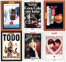COCA COLA Lot de 6 Cartes NEUVES DIFFERENTES Lot N° CCLA 142