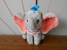 DUMBO THE FLYING ELEPHANT vintage character soft toy DISNEY STORE plush/comforte