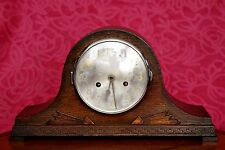 Vintage Art Deco German 'Kienzle' Oak 8-Day Mantle Clock with Chimes